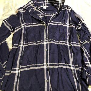 Plaid Shirt, Old Navy, Medium